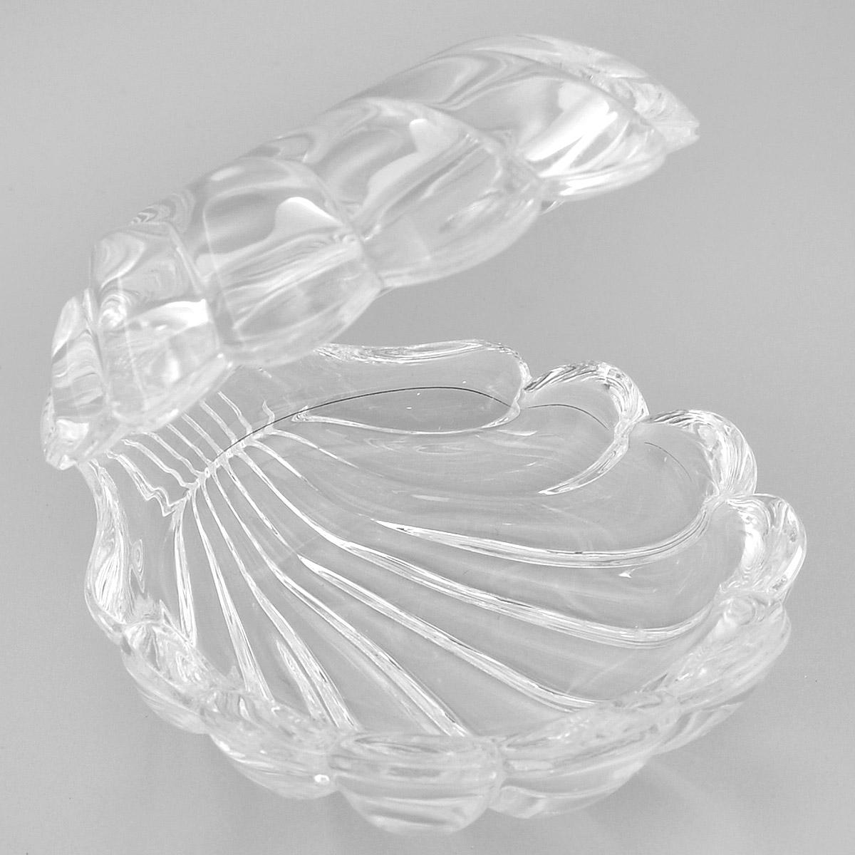 Доза Crystal Bohemia Ракушка, 7,5 х 9 х 8 смPARIS 75015-8C ANTIQUEДоза Crystal Bohemia Ракушка изготовлена из высококачественного хрусталя. Доза выполнена в форме открытой ракушки и сочетает в себе изысканный дизайн с максимальной функциональностью. Она прекрасно впишется в интерьер вашего дома. Доза подчеркнет прекрасный вкус хозяйки и станет отличным подарком.