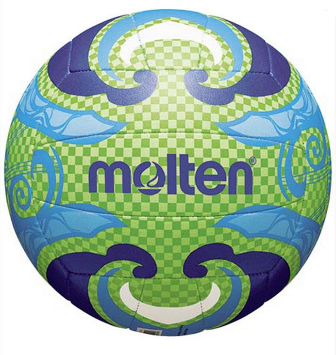 Мяч для пляжного волейбола Molten. Размер 5120330_yellow/blackМяч для пляжного волейбола Molten выполнен из тонкой синтетической кожи, обеспечивающей мягкий контакт с рукой. Машинное шитье. Мяч доставляется в ненакачанном виде.