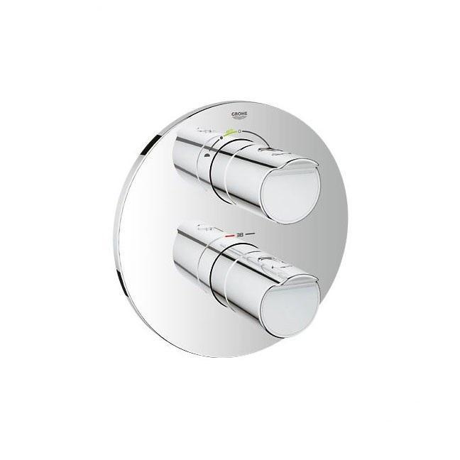 Термостатический смеситель для душа GROHE Grohtherm 2000 с душевым гарнитуром (готовый набор для душа) (34283001)81577096Состоит изКомплект готового монтажа Grohtherm 2000Со встроенным переключателем на 2 положения (19 355 001)GROHE Rapido T термостатический смеситель Для скрытого монтажа (35 500)Power&Soul Cosmopolitan Верхний душ (27 764 000)Душевой кронштейн (28 576 000)Ручной душ Power&Soul Cosmopolitan 115 (27 660 000)Подключение для душевого шланга со встроенным держателем для душа (28 628 000)Душевой шланг Silverflex 1.500 мм (28 364 000)
