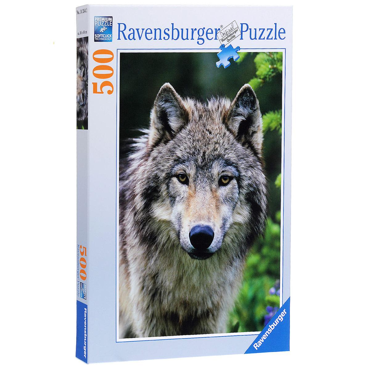 Ravensburger Волк. Пазл, 500 элементов