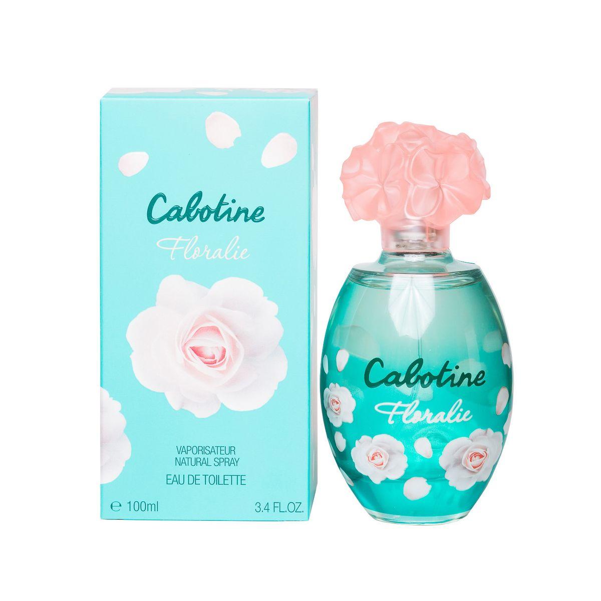 Gres Cabotine Floralie Туалетная вода женская 100 млPMF3000Cabotine Floralie воплощает романтичную женственность, радость и легкость через цвет, аромат и цветы. Парфюмерная композиция: Лимон, Черная смородина, Фрезия, Роза, Лилия, Персик, Белый кедр, Мускус