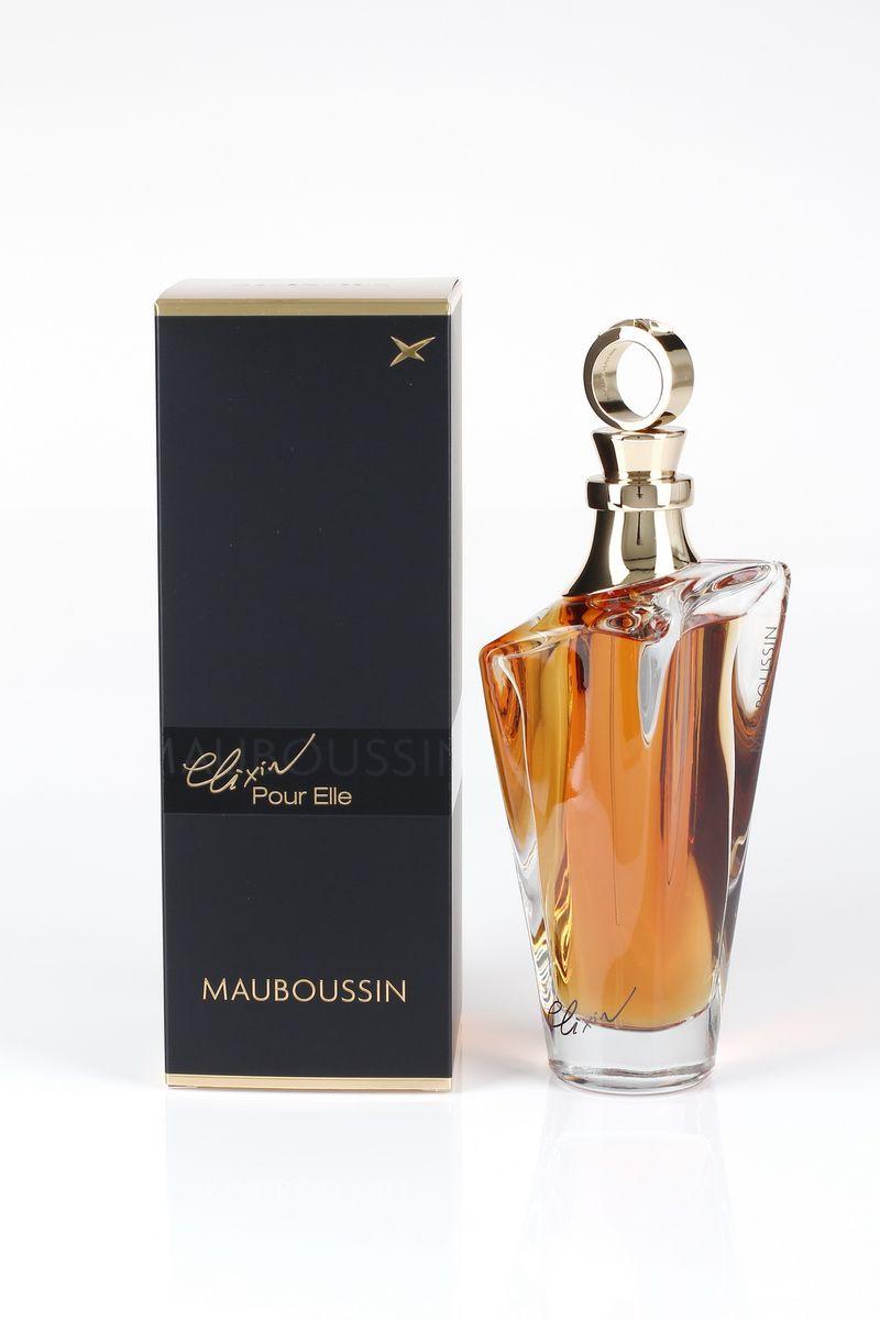Mauboussin Elixir Pour Elle Туалетные духи женские 100 мл1301210Elixir Pour Elle – это квинтэссенция изысканных парфюмерных сочетаний. Этот восточный аромат – магическое зелье, которое способно вдохновлять на любовь и опьянить своим сладострастием.Яркий, выразительный и таинственный аромат создан для женщин, которые всегда хранят в себе загадку. Семейство ароматов: Цветочно-фруктовый Год выпуска: 2014 Начальная нота: Лимон, Грейпфрут, Черная смородина Ноты сердца: Жасмин самбак, Красная роза, Фиалка Базовые ноты: Ваниль, Уд, Сандаловое дерево