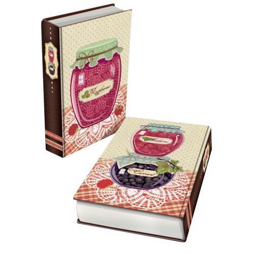 Декоративная шкатулка из МДФ Варенье малиновое арт.35179 (17*11*5 см) арт.3517983377Феникс 35179 - это оригинальная шкатулка, созданная в виде красивой книги. Изделие непременно понравится всем ценителям интересных дизайнерских решений. Данная модель изготовлена из высококачественных и надежных материалов. МДФ