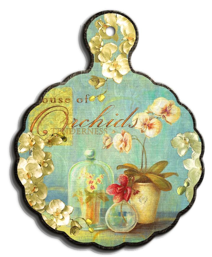 Подставка под горячее GiftnHome Нежность орхидеи, 18 х 23 см54 009312Подставка под горячее GiftnHome Нежность орхидеи выполнена из высококачественной керамики. Изделие, декорированное красочным изображением, идеально впишется в интерьер современной кухни. Специальное пробковое основание подставки защитит вашу мебель от царапин. Подставка имеет отверстие, за которое ее можно повесить в любое удобное место. Изделие не боится высоких температур и легко чиститься от пятен и жира.Каждая хозяйка знает, что подставка под горячее - это незаменимый и очень полезный аксессуар на каждой кухне. Ваш стол будет не только украшен оригинальной подставкой с красивым рисунком, но и сбережен от воздействия высоких температур ваших кулинарных шедевров. Нельзя мыть в посудомоечной машине.Размер подставки: 18 см х 23 см х 1 см.