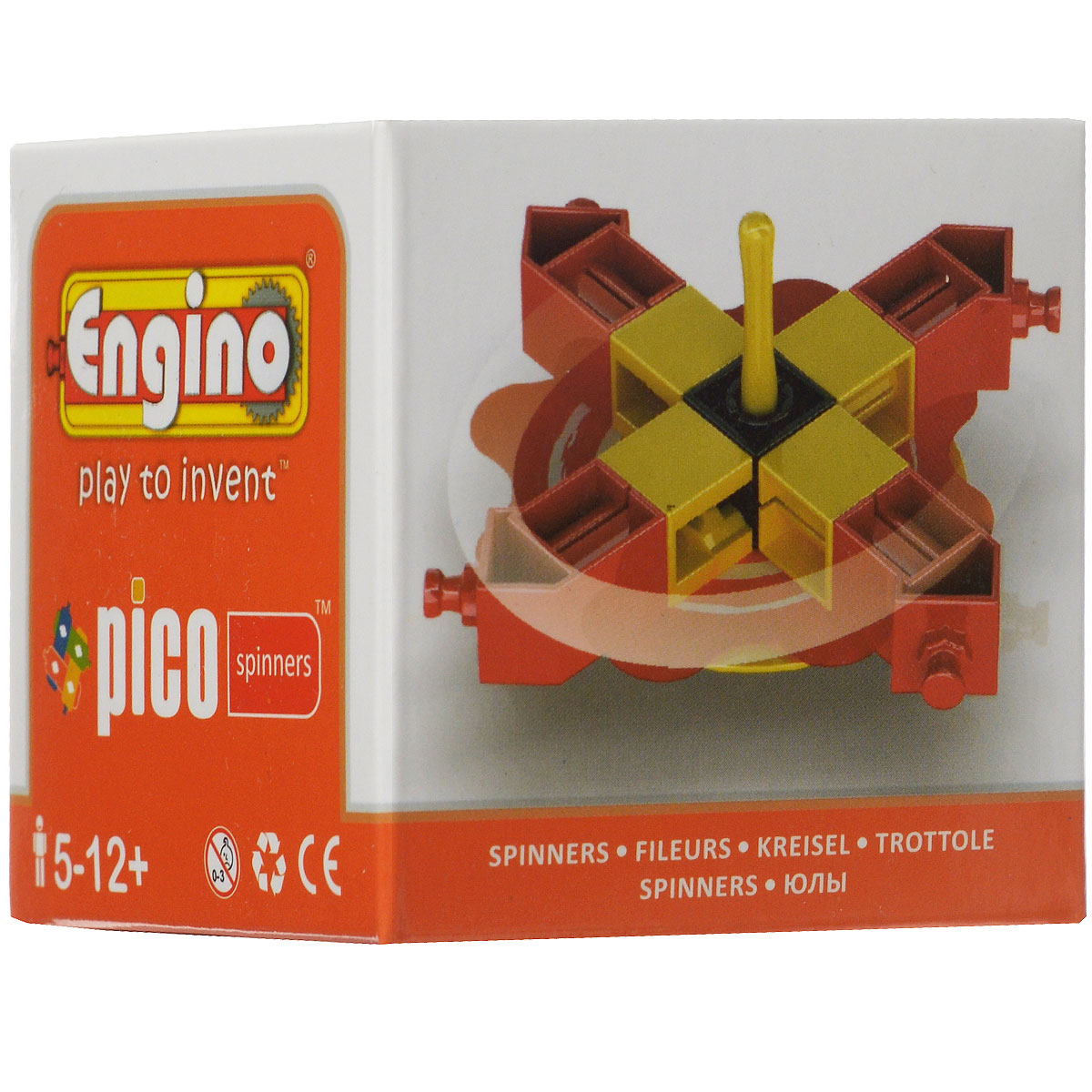 Engino Конструктор Spinners PS04 engino конструктор inventor приключения 170 элементов