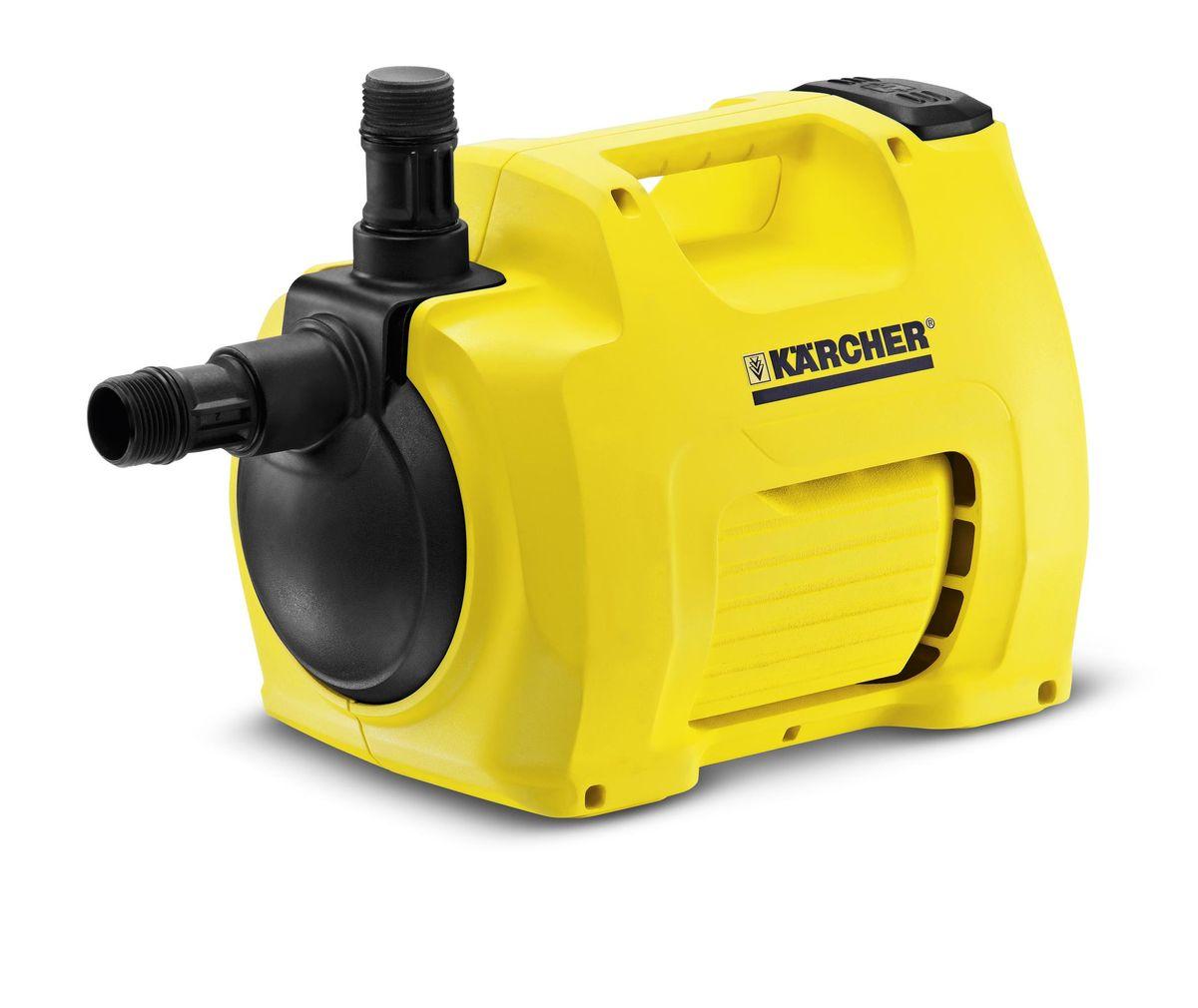 Насос для дома и сада Karcher BP 3 Garden 1.645-351.068/1/6Насос для дома и сада Karcher BP 3 Garden обеспечивает надежное орошение сада и постоянное давление воды, необходимое для водоснабжения дома. Насос с нулевым энергопотреблением в режиме ожидания. Работает только тогда, когда это необходимо, он автоматически включается и отключается в зависимости от отбора воды. К насосу можно одновременно присоединить два шланга - например, один для ручного полива, а другой - для орошения газона дождевателем. Мощный насос не требует технического обслуживания и впечатляет постоянным давлением для оптимального полива и водоснабжения. Ножной переключатель и звукопоглощающие резиновые ножки дают дополнительный комфорт. При возникновении неисправности специальный индикатор показывает, где находится ее причина - со стороны всасывания или с напорной стороны. Высококачественные материалы гарантируют долгий срок службы.Максимальная производительность: 3500 л/ч.Максимальная мощность двигателя: 800 Вт.Максимальная высота подачи/давления (м/бар): 40/4.Максимальная высота всасывания: 8 м.Температура подачи: 35°С.Соединительная резьба: G1.Длина соединительного шнура: 1,85 м.