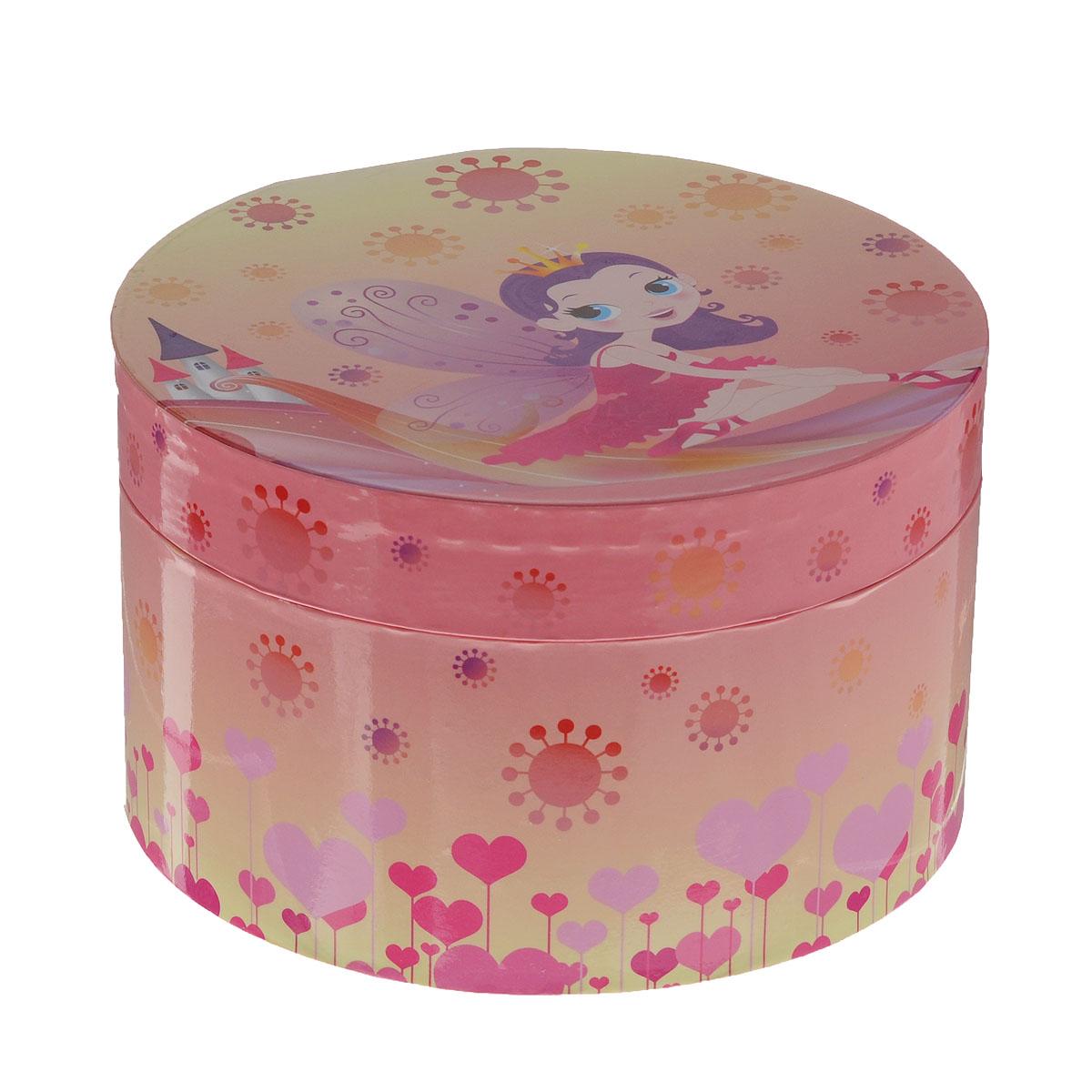 Музыкальная шкатулка Jakos  Принцесса , цвет: розовый, желтый -  Предметы интерьера