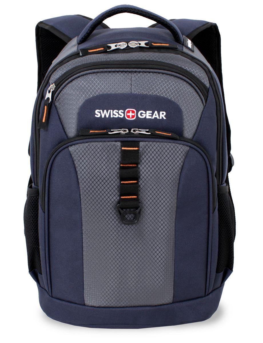 Рюкзак SwissGear Sport Line, цвет: синий, серый, 30 см х 18 см х 44 см, 24 лУТ-000056291Рюкзак SwissGear Sport Line - это самодостаточный, многофункциональный и надежный спутник своего владельца, как и знаменитый швейцарский нож! Благодаря многофункциональности рюкзака, вы можете легко организовать свои вещи, отправив ключи, мобильный телефон и еще тысячу мелочей в специальный карман-органайзер, положив ноутбук в надежный мягкий карман под спинкой. После этого останется еще много места для других необходимых вещей.Особенности:Отделение для ноутбука с мягкими стенками. Подходит для большинства ноутбуков с диагональю экрана 15 дюймов.Карман-органайзер для мелких предметов. Включает в себя съемную ключницу, раздельные кармашки для пишущих принадлежностей, мобильного телефона, удостоверения личности и флешки.Внешний карман из эластичной сетки подходит для бутылок любого размера.Эргономичные плечевые ремни с отделкой из мягкой дышащей ткани обеспечивают максимальный комфорт при использовании.Система циркуляции воздуха AIRFLOW обеспечивает комфорт и поддержку спины.По всем вопросам гарантийного и постгарантийного обслуживания рюкзаков, чемоданов, спортивных и кожаных сумок, а также портмоне марок Wenger и SwissGear вы можете обратиться в сервис-центр, расположенный по адресу: г. Москва, Саввинская набережная, д.3. Тел: (495) 788-39-96, (499) 248-56-56, ежедневно с 9:00 до 21:00. Подробные условия гарантийного обслуживания приведены в гарантийном талоне, поставляемым в комплекте с каждым изделием. Бесплатный ремонт изделий производится при условии предоставления гарантийного талона и товарного/кассового чека, подтверждающего дату покупки.