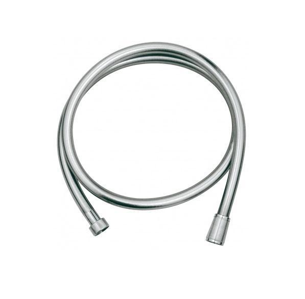 Душевой шланг Grohe Silverflex, длина 2 м. 4005176836237BL505Из пластика с гладкой поверхностью повышенной гибкости, легко чистится С защитой от залома, на обоих краях вращающийся конус (Anti-Twist) Поворотный конус для функции Twistfree 2000 мм 1/2? x 1/2? GROHE StarLight хромированная поверхность Видео по установке является исключительно информационным. Установка должна проводиться профессионалами!