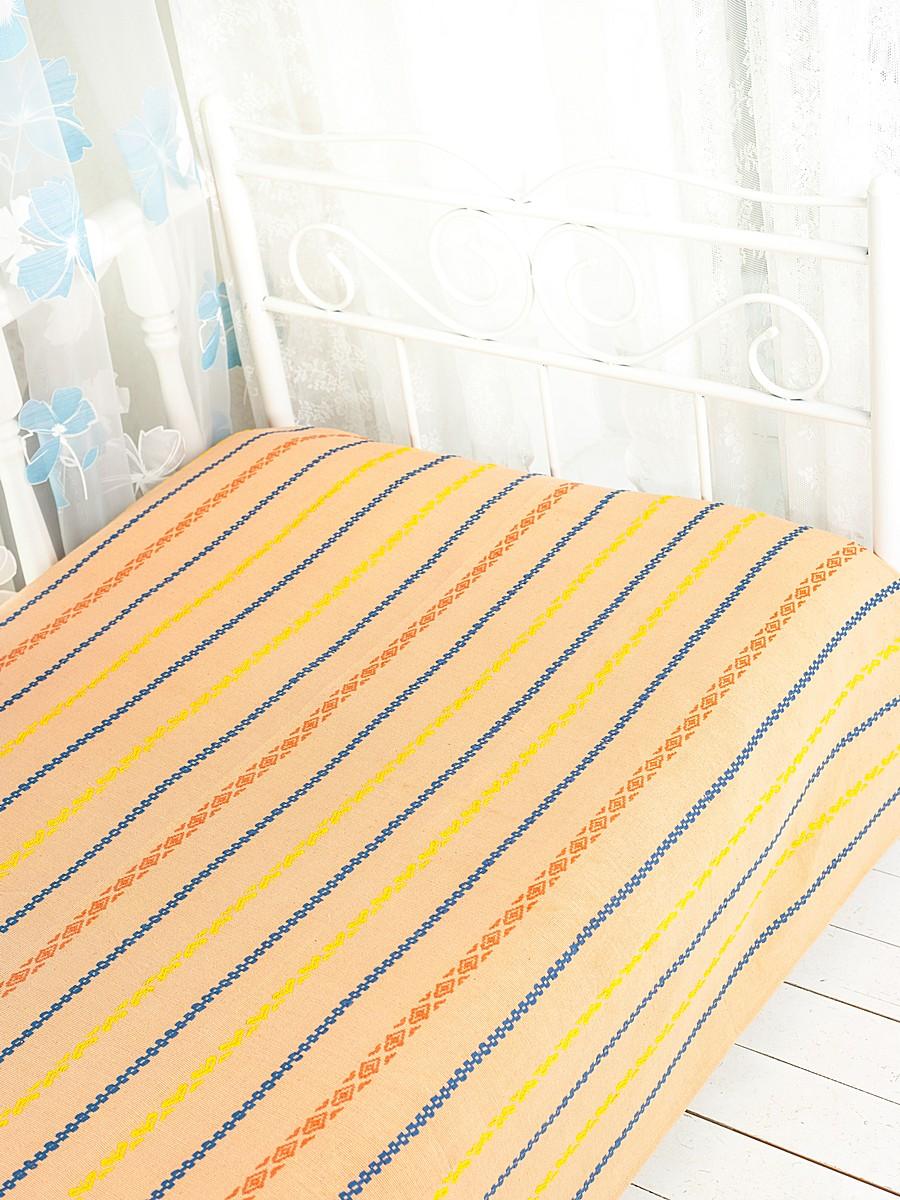 Покрывало Arloni Альянс, цвет: коралл, 200 см х 240 смFA-5125 WhiteПокрывало Arloni Альянс прекрасно оформит интерьер спальни или гостиной. Изготовлено из 100% натурального хлопка, поэтому подходит как для взрослых, так и для детей. Натуральные краски абсолютно гипоаллергенны. Покрывало оформлено красивой вышивкой в виде разноцветных полосок с разным рисунком. Хорошо смотрится и на диване, и на большой кровати. Изделие выполнено из экологически чистого материала, отличается высоким качеством, легко стирается и сохраняет замечательный внешний вид долгое время. Покрывало Arloni не только подарит тепло, но и гармонично впишется в интерьер вашего дома.