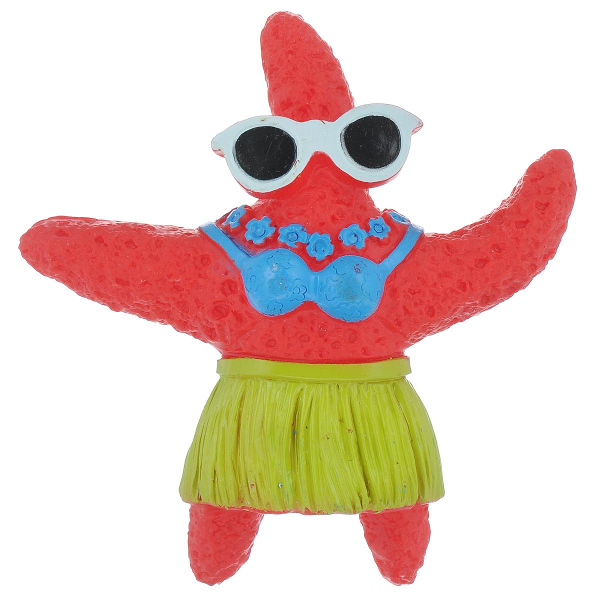 Игрушка для собак Ziver Морская звезда, с пищалкой, цвет: красный, высота 12,5 см0120710Игрушка Ziver Морская звезда изготовлена из высококачественного винила с использованием только безопасных, не токсичных красителей. Игрушка выполнена в виде морской звезды и при надавливании или захвате пастью пищит. Привлечет внимание вашего любимца, позволит весело провести ему время, не навредит здоровью, а также поможет вам сохранить в целости личные вещи и предметы интерьера.Рифленая игольчатая поверхность игрушки прекрасно массирует десна.Размер: 12,5 см х 12 см х 2 см.