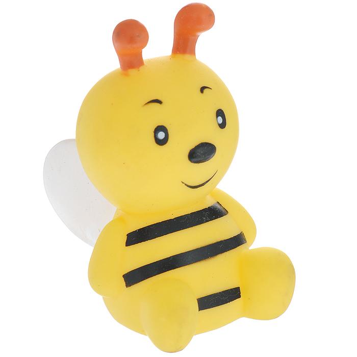Игрушка для собак Ziver Пчела, цвет: желтый, высота 9 см0120710Игрушка для собак Ziver Пчела с пищалкой изготовлена из винила с добавлением латекса, с использованием не токсичных красителей. Привлечет внимание вашего любимца, позволит весело провести ему время, не навредит здоровью, а также поможет вам сохранить в целости личные вещи и предметы интерьера.Размер: 9 см х 7 см х 5 см.
