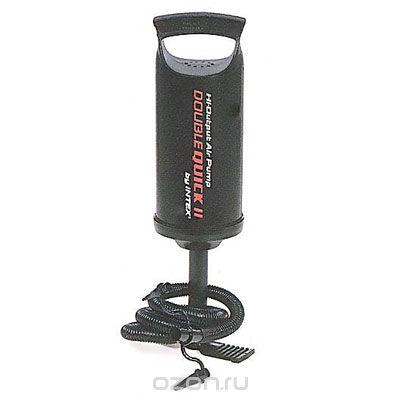 Насос ручной INTEX Hi-Output Hand Pump 30см112843С помощью ручного насоса Double Quick 1 вы сможете без труда надуть лодку, надувной круг, надувной бассейн и многое другое. Закачка воздуха осуществляется за счет поднятия и опускания поршня насоса. Насос оснащен гофрированным шлангом с тремя различными насадками, подходящими к большинству клапанов.Отличительными особенностями товаров фирмы Intex являются качество, эстетичность, функциональность и современный дизайн. Продукция для отдыха и комфорта Intex - это надувные бассейны, каркасные бассейны, надувные игровые центры и батуты, аксессуары для плавания, надувные лодки, надувные матрасы и кровати. Современные бассейны прочны и надежны, не требуют особо тщательной подготовки грунта перед установкой, имеют удобные клапаны для слива воды. Ну и, наконец, они красивы! Яркой цветовой гаммой они украсят ландшафт, а плеск и сверкание воды наполнит радостью наши сердца! Характеристики: Высота насоса: 29 см. Размер упаковки: 10,5 см х 30 см х 10,5 см.