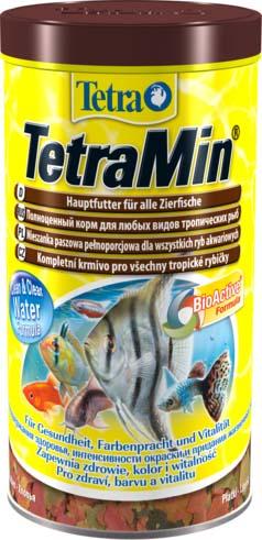 Корм Tetra TetraMin, для всех видов тропических рыб, хлопья, 200 г762725Корм для рыб Tetra TetraMin - полноценный сбалансированный корм в виде хлопьев для всех видов тропических рыб. Смесь семи видов хлопьев из более, чем 40 видов высококачественного сырья. Запатентованная БиоАктив-формула поддерживает работоспособность иммунной системы, обеспечивая высокую продолжительность жизни. Тщательно подобранная смесь высокопитательных функциональных ингредиентов, витаминов, минералов и микроэлементов для ежедневного полноценного питания рыб. Товар сертифицирован.
