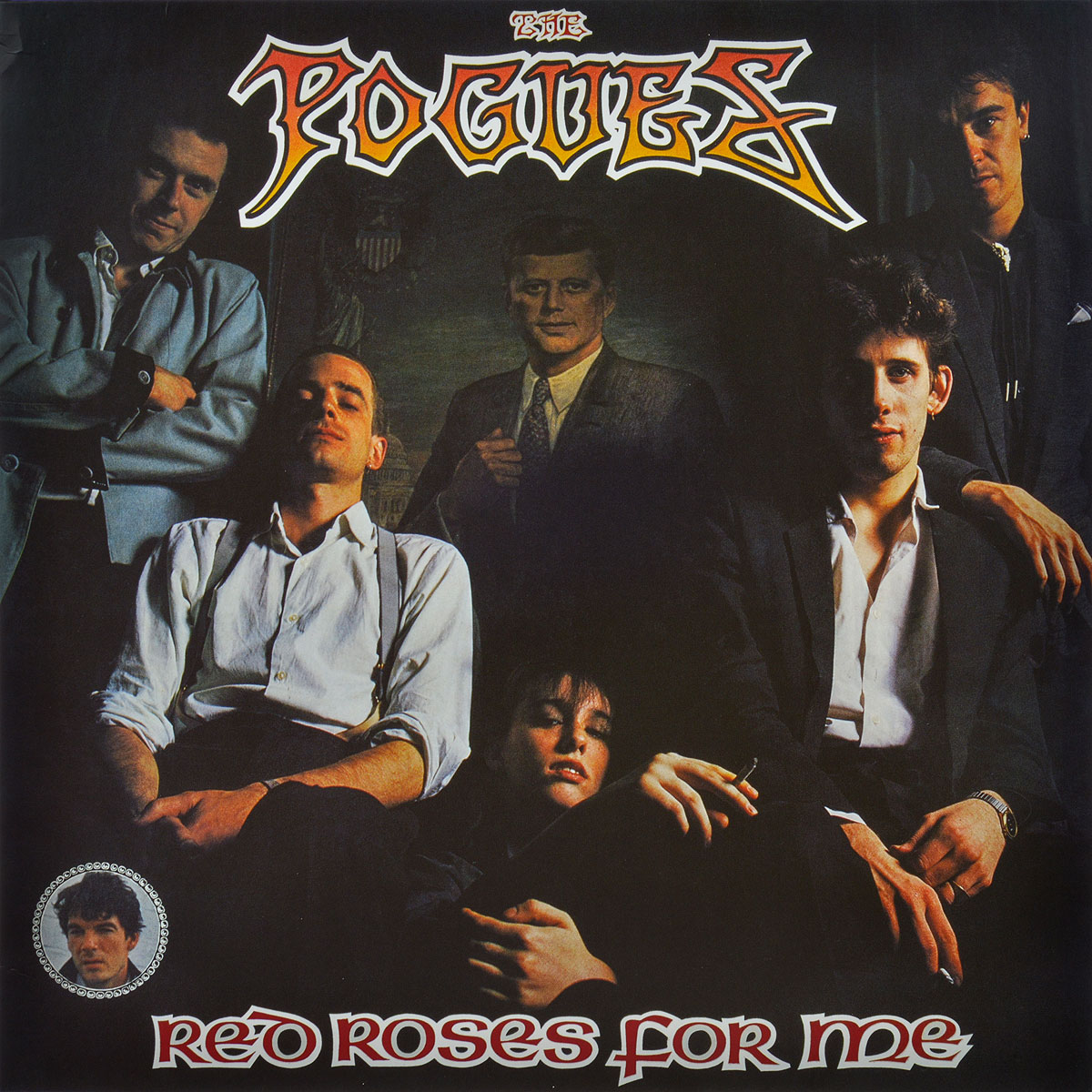 The Pogues The Pogues. Red Roses For Me (LP)