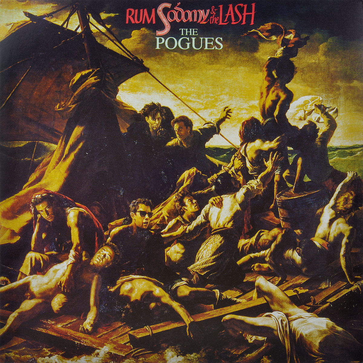 The Pogues. Rum Sodomy & The Lash (LP)