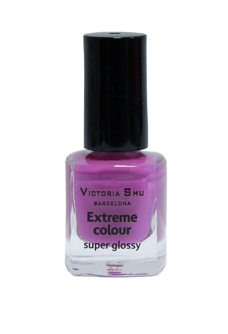 Victoria Shu Лак для ногтей Extreme Colour, тон № 233, 6 мл6EXTREME COLOUR от VICTORIA SHU – это 35 ярких, смелых, соблазнительных оттенков. Модный тренд – матовая, насыщенная текстура. Любые цвета – на любой вкус, от нежных пастельных, интенсивных супермодных оранжевых, лиловых и оттенков фуксии до сенсационных красного и черного.