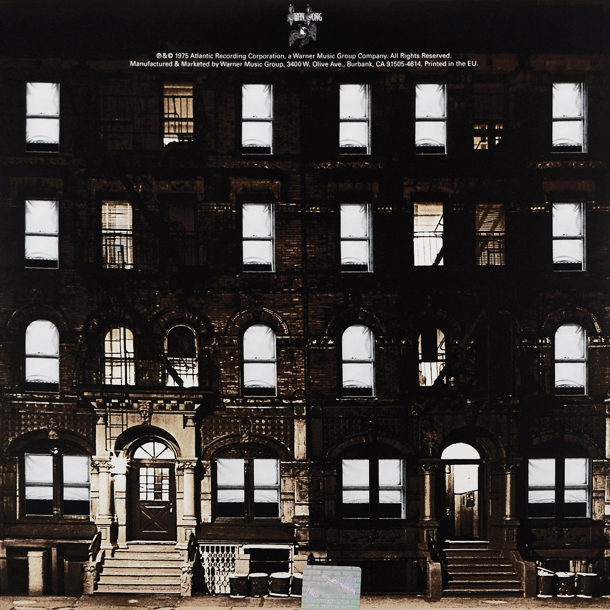Led Zeppelin Led Zeppelin. Physical Graffiti (2 LP) the explosion of the classic all match solid colored body hip high elastic denim pants feet female winter bag mail