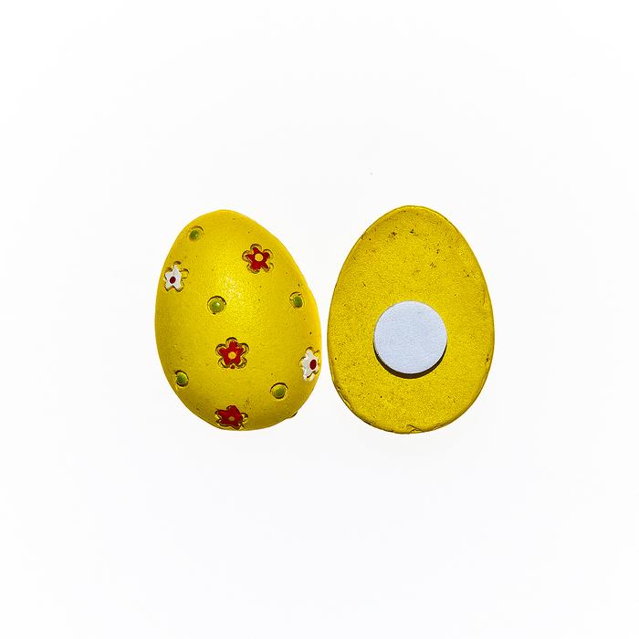 Набор декоративных украшений для яиц Home Queen Лужайка, на клейкой основе, 8 шт60787_2Набор Home Queen Лужайка состоит из восьми декоративных элементов и предназначен для украшения яиц, посуды, стекла, керамики, металла, цветочных горшков, ваз и других предметов интерьера. Украшения изготовлены из высококачественной полирезины в виде яиц и фиксируются при помощи специальной клейкой основы. Такой набор украшений создаст атмосферу праздника в вашем доме. Размер фигурки: 1,8 см х 0,5 см х 2,6 см.