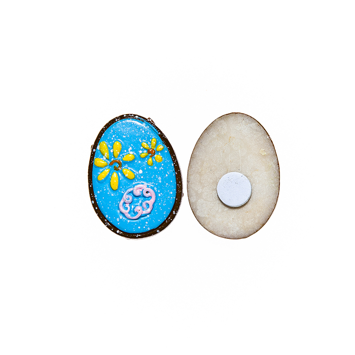 Набор декоративных украшений для яиц Home Queen Праздник, на клейкой основе, цвет: голубой, 6 штNLED-454-9W-BKНабор Home Queen Праздник состоит из шести декоративных элементов и предназначен для украшения яиц, посуды, стекла, керамики, металла, цветочных горшков, ваз и других предметов интерьера. Украшения изготовлены из высококачественной полирезины в виде яиц и фиксируются при помощи специальной клейкой основы. Такой набор украшений создаст атмосферу праздника в вашем доме. Размер фигурки: 3 см х 0,5 см х 2,2 см.