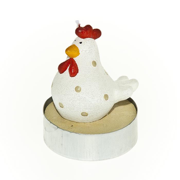Набор свечей Home Queen Красивые курочки, 4 штБрелок для ключейНабор свечей декоративных Home Queen Красивые курочки - отличный подарок, подчеркивающий яркую индивидуальность того, кому он предназначается. Свечи выполнены из высококачественного воска в форме курочек. Такой набор свеча украсит интерьер вашего дома или офиса в преддверии Пасхи. Оригинальный дизайн и красочное исполнение создадут праздничное настроение.Комплектация: 4 шт. Размер свечи (без учета фитиля): 3,5 см х 3,5 см х 5 см.