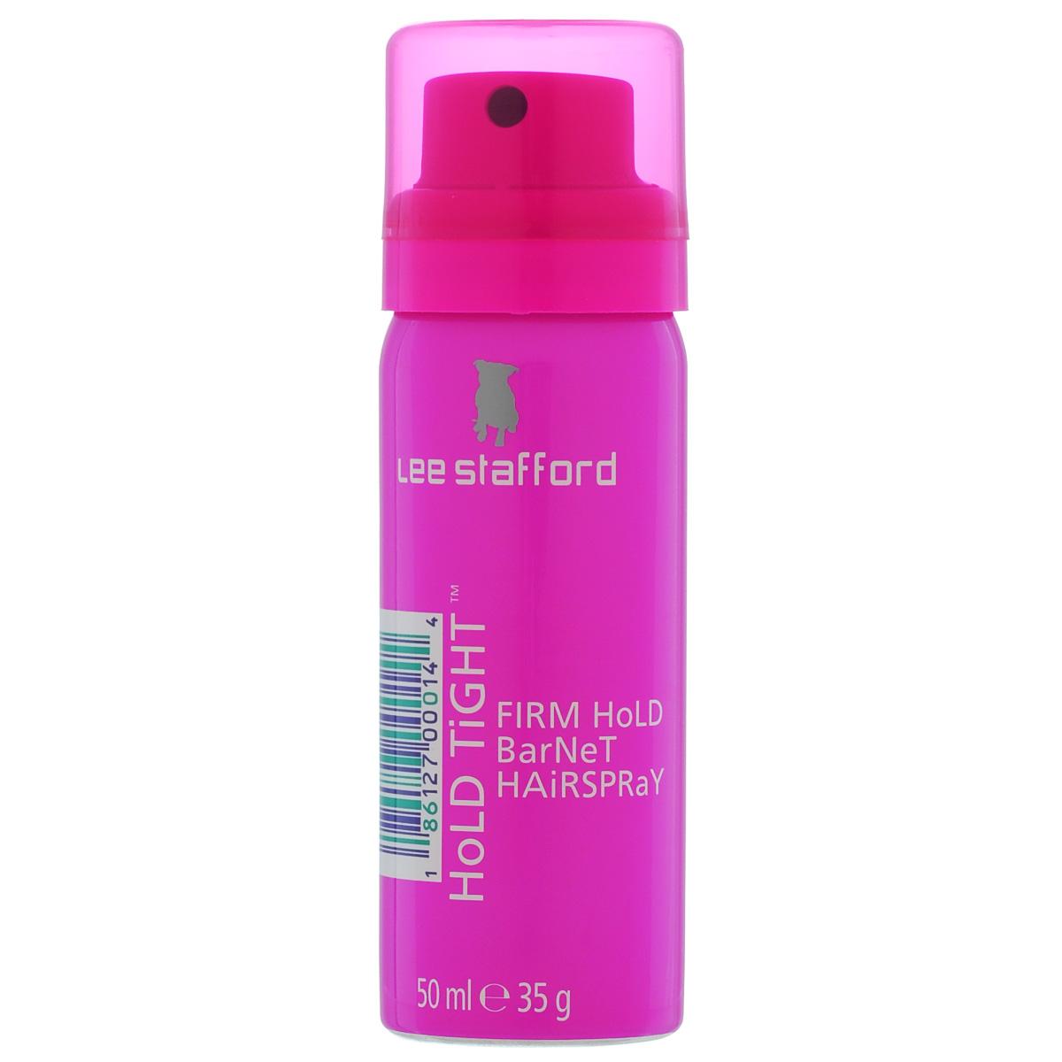 Lee Stafford Лак для волос Hold Tight Mini, 50 мл608084400401 Lee Stafford Лак для волос сверхсильной фиксации Hold Tight Spray, 50 мл. Фиксирует прическу, не создает пленку и не склеивает. Встряхните баллон, распылите лак в нужном объеме.