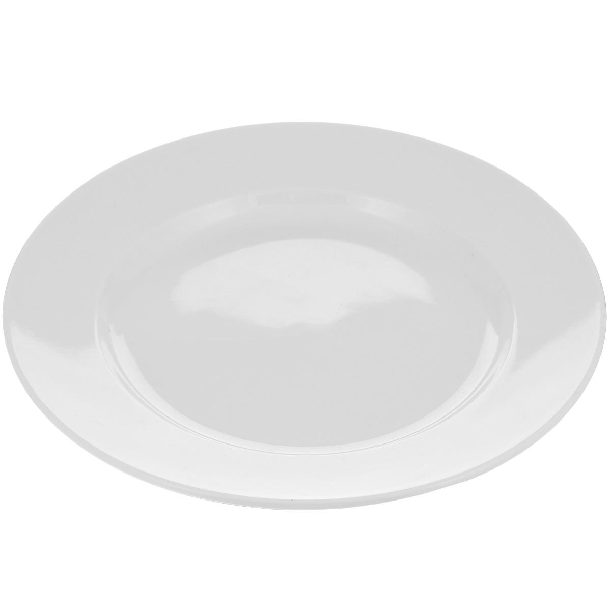 Тарелка десертная Tescoma Opus, диаметр 20 см115610Тарелка Tescoma Opus выполнена из высококачественного фарфора однотонного цвета и прекрасно подойдет для вашей кухни. Такая тарелка изысканно украсит сервировку как обеденного, так и праздничного стола. Предназначена для подачи десертов. Пригодна для использования в микроволновой печи. Можно мыть в посудомоечной машине.Диаметр: 20 см.Высота тарелки: 2,5 см.