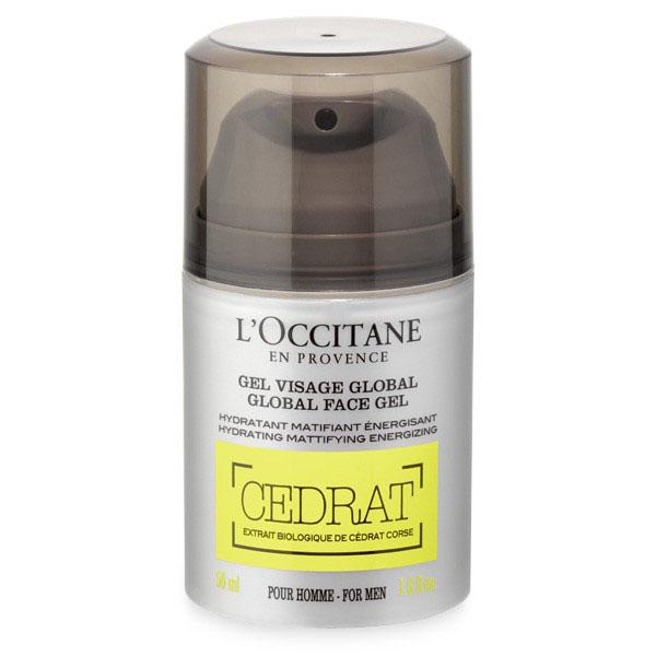 LOccitane Гель для ухода за кожей лица Cedrat 50 млFS-00897Обогащённый органическим экстрактом цедрата, гель для лица увлажняет, матирует и тонизирует кожу. В результате применения кожа выглядит свежей и здоровой.
