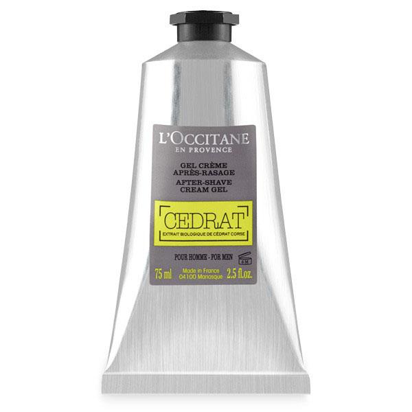 LOccitane Крем-гель после бритья Cedrat 75 мл329962Этот крем-гель с лёгкой кремообразной текстурой мгновенно впитывается, не оставляя жирной пленки. Он эффективно увлажняет и успокаивает кожу, делая её мягкой и придавая лёгкий бодрящий аромат цедрата.