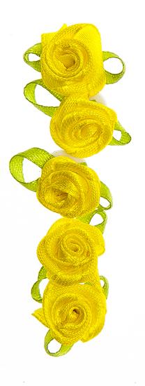 Набор декоративных украшений Home Queen Розочки, на клейкой основе, цвет: желтый, 24 шт58232_2Набор Home Queen Розочки состоит из 24 декоративных элементов и предназначен для украшения яиц, посуды, стекла, керамики, металла, цветочных горшков, ваз и других предметов интерьера. Украшения изготовлены из полиэстера в виде цветов и фиксируются при помощи специальной клейкой основы. Такой набор украшений создаст атмосферу праздника в вашем доме. Размер фигурки: 2,2 см х 1 см х 1 см.