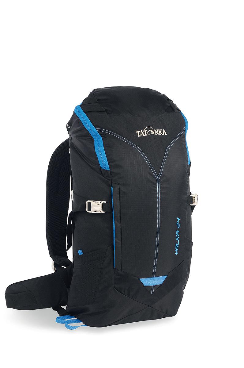 Рюкзак cпортивный Tatonka Yalka 24, цвет: черный, 24 лBP-303 BKУдобный спортивный рюкзак Tatonka Yalka 24 с верхней загрузкой. Несущая система X Vent Zero обеспечивает максимальную вентиляцию даже в жаркую погоду.Преимущества и особенности :Несущая система X Vent ZeroРегулируемый нагрудный ременьS-образные плечевые лямкиМягкий набедренный ременьБоковые утягивающие ремниДождевой чехол в комплектеВыход для питьевой системыБоковые сетчатые карманыПетли на крышке рюкзака.
