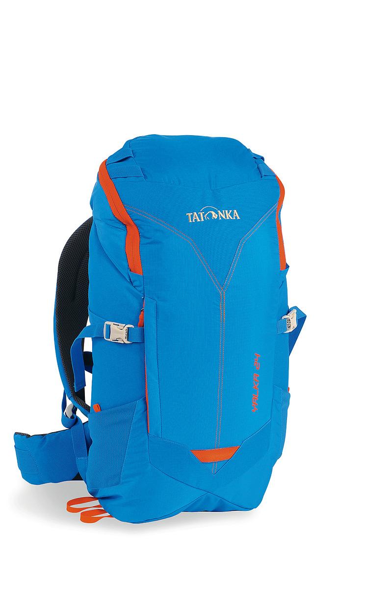 Рюкзак cпортивный Tatonka Yalka 24, цвет: ярко-синий, 24 лBP-001 BKУдобный спортивный рюкзак Tatonka Yalka 24 с верхней загрузкой. Несущая система X Vent Zero обеспечивает максимальную вентиляцию даже в жаркую погоду.Преимущества и особенности :Несущая система X Vent ZeroРегулируемый нагрудный ременьS-образные плечевые лямкиМягкий набедренный ременьБоковые утягивающие ремниДождевой чехол в комплектеВыход для питьевой системыБоковые сетчатые карманыПетли на крышке рюкзака.
