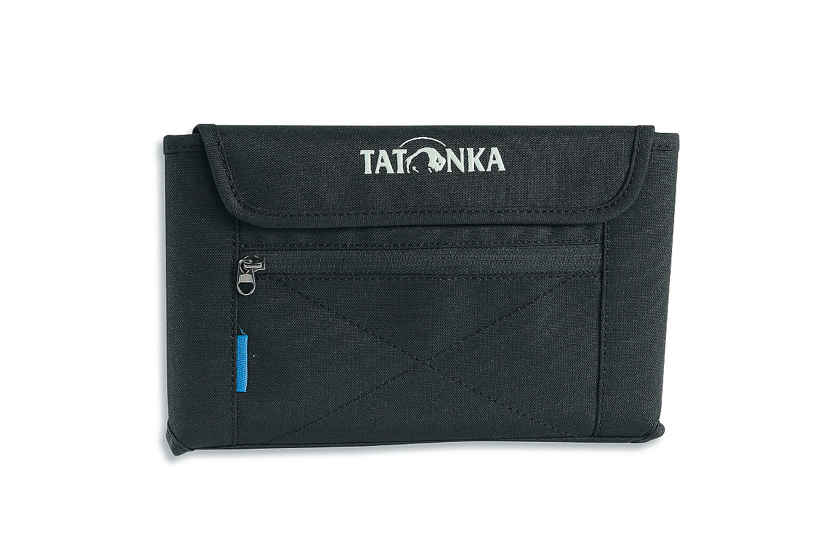 Кошелек Tatonka Travel Wallet, цвет: черный. 2978.040 tatonka euro wallet