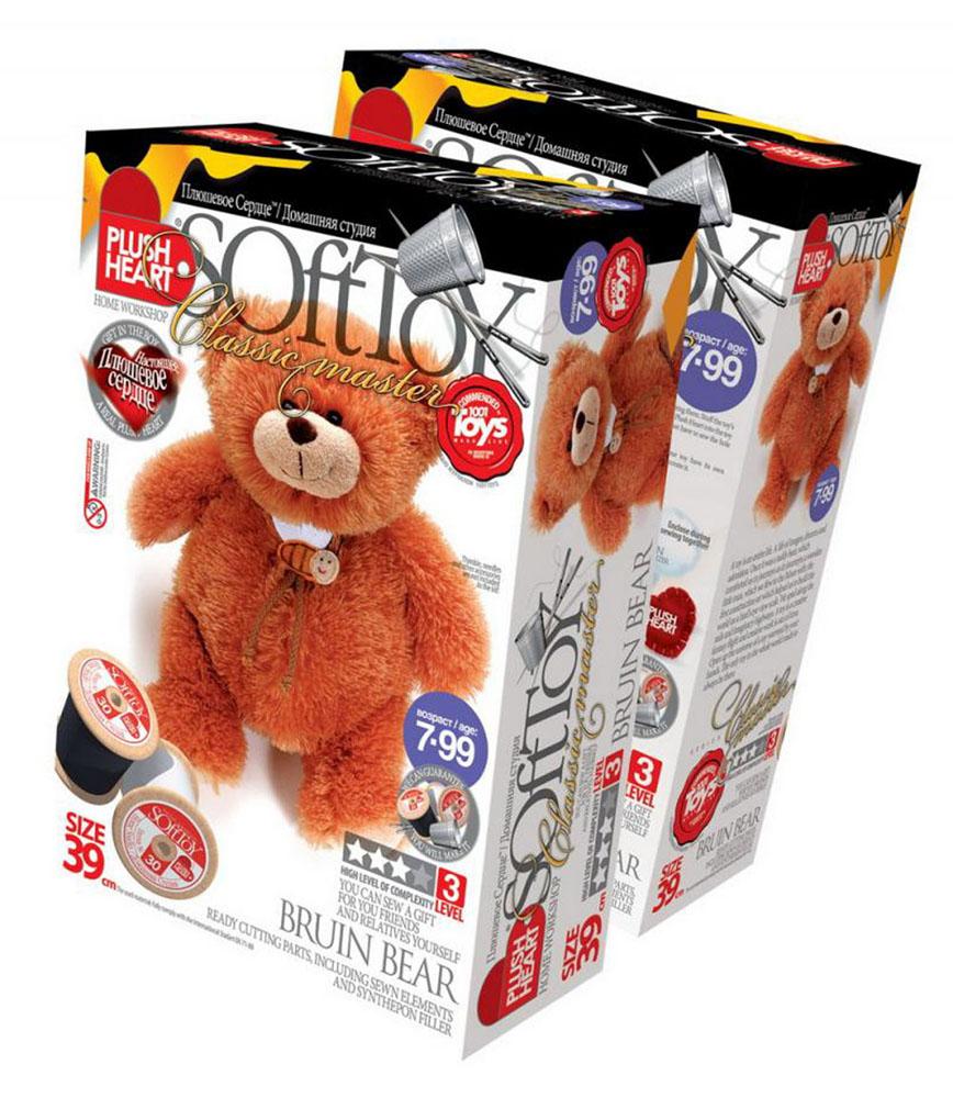 Набор для создания мягкой игрушки  Медведь Топтыгин  - Игрушки своими руками