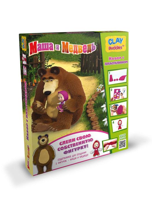 Giromax Набор для лепки Маша и Медведь730396Набор для лепки Giromax Маша и Медведь представляет собой сочетание моделирования и игры. Набор включает в себя: 6 плиток пластилина (красный, коричневый), игровая фоновая сцена, 2 карточки с картонными деталями, 2 листа липучек, иллюстрированная книжка с инструкциями и заданиями. Входящая в набор пластилиновая масса разработана специально для детей, очень мягкая, приятно пахнет, ее не надо разминать перед лепкой.Пластилин быстро высыхает, не имеет запаха, не липнет к рукам и одежде, легко смывается.Используя пластилин и картонные формочки, малыш сможет самостоятельно вылепить фигурки любимых героев - Маши и Медведя, а с помощью игровой фоновой сцены созданные игрушки оживут. Работа с пластилином развивает мелкую моторику пальцев малыша, пространственное воображение, фантазию.