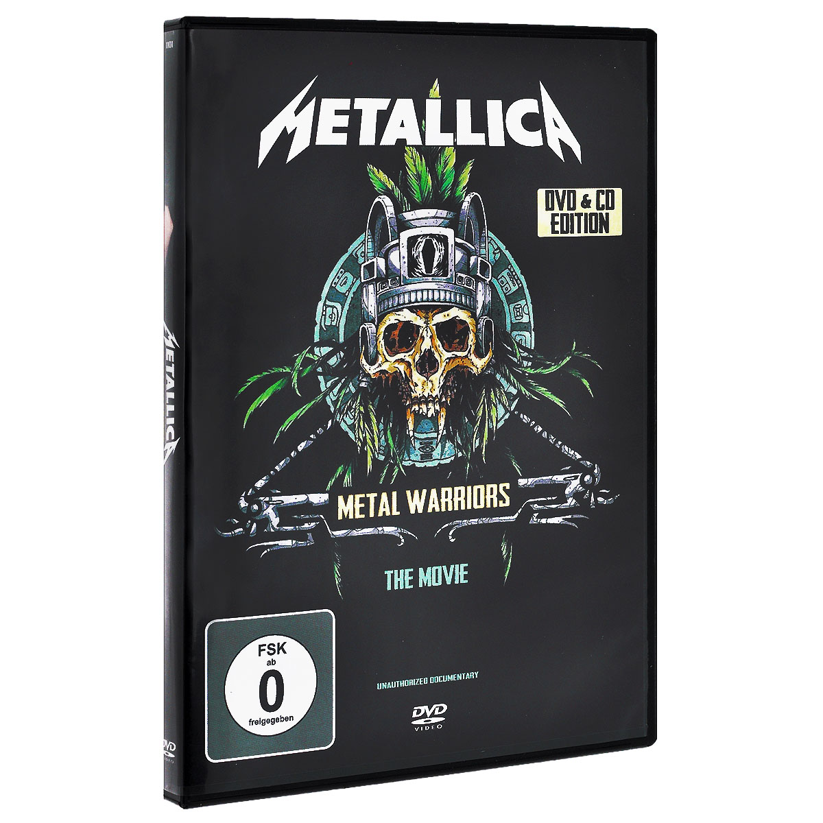 Metallica Metallica. Metal Warriors (CD + DVD) metallica death magnetic cd