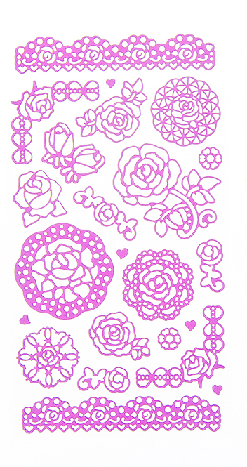 Набор декоративных наклеек Home Queen Цветочное настроение. Розы, цвет: розовый, 23 штTHN132NНабор наклеек Home Queen Цветочное настроение. Розы прекрасно подойдет для оформления творческих работ. Их можно использовать для украшения пасхальных яиц, упаковок, подарков и конвертов, открыток, декорирования коллажей, фотографий, изделий ручной работы и предметов интерьера. Наклейки выполнены из ПВХ. Задняя сторона клейкая. В наборе - 23 наклейки. Такой набор украшений создаст атмосферу праздника в вашем доме. Комплектация: 23 шт.Средний размер наклейки: 4,5 см х 4 см.