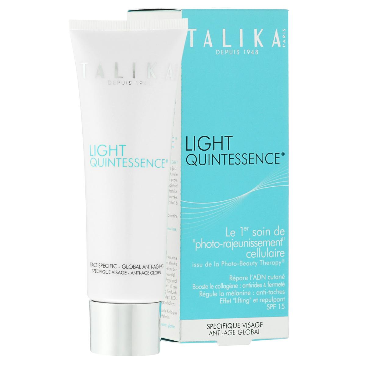 Talika Дневной крем для лица, антивозрастной, 30 млZ-20Дневной антивозрастной крем для лица борется с морщинами. Выравнивает цвет лица и наполняет кожу энергией. Мгновенно увлажняет кожу и повышает её плотность. Защищает от вредного воздействия УФ лучей. Наносить утром на безупречно очищенную кожу лица, шеи и области декольте. Рекомендуется использование поверх сыворотки.