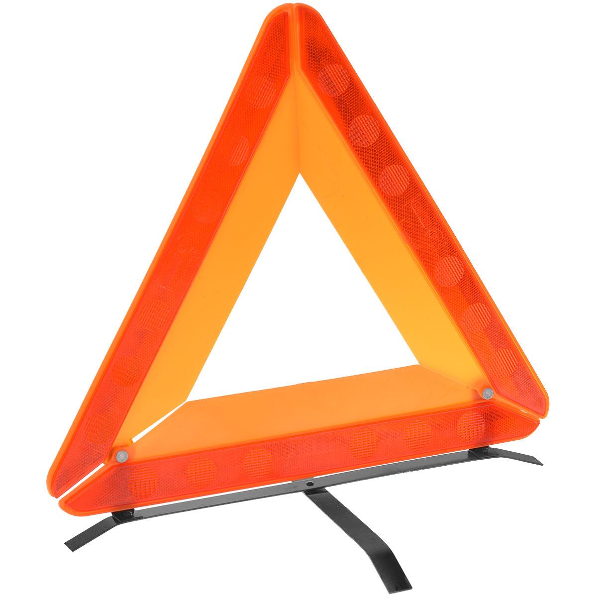 Знак аварийной остановки Phantom PH5039, с пластиковым аракаломAT-01Знак аварийной остановки Phantom PH5039 выполнен из пластика, оснащен пластиковой вставкой (аракалом). Треугольный, с отражением. Металлическое основание повышает устойчивость знака на дорожном покрытии. Соответствует ГОСТ. Компактно складывается. Для хранения предусмотрен специальный футляр.