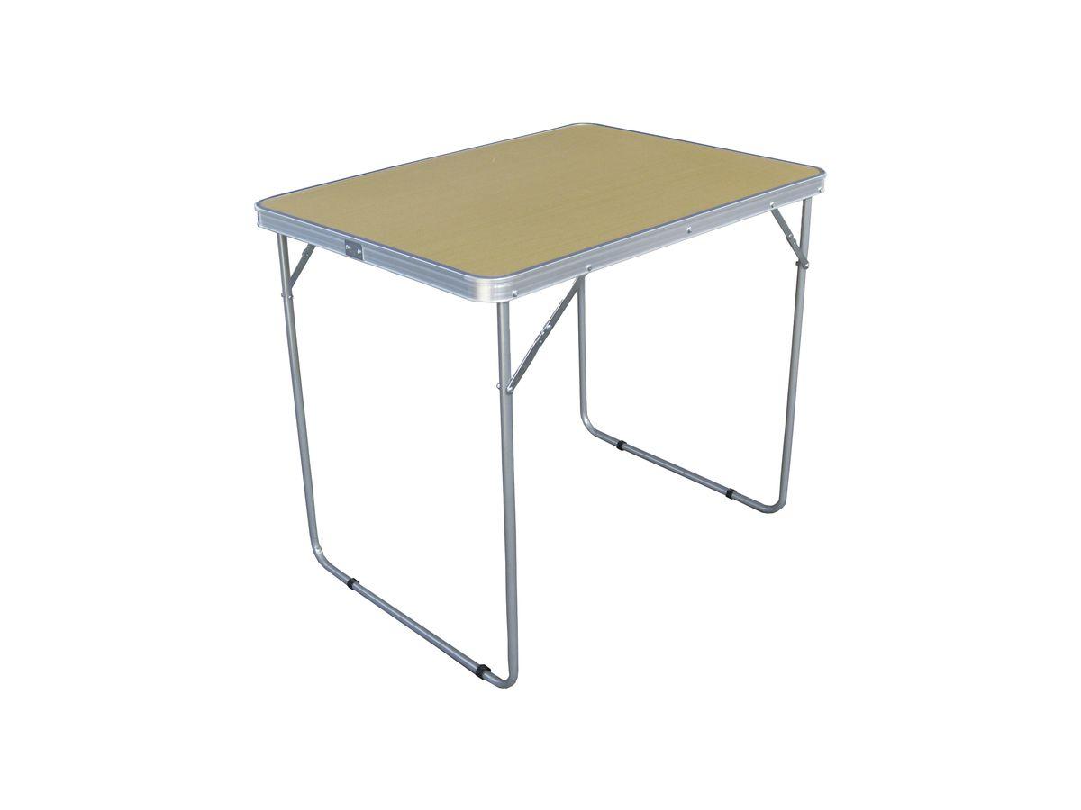 Стол складной Woodland Camping Table, 80 см х 60 см х 70 смNF-20602Складной стол Woodland Camping Table предназначен для создания комфортных условий в туристических походах, рыбалке и кемпинге.Особенности:Компактная складная конструкция.Прочный стальной каркас с покрытием.Материал столешницы - МДФ.Удобная ручка для переноски.