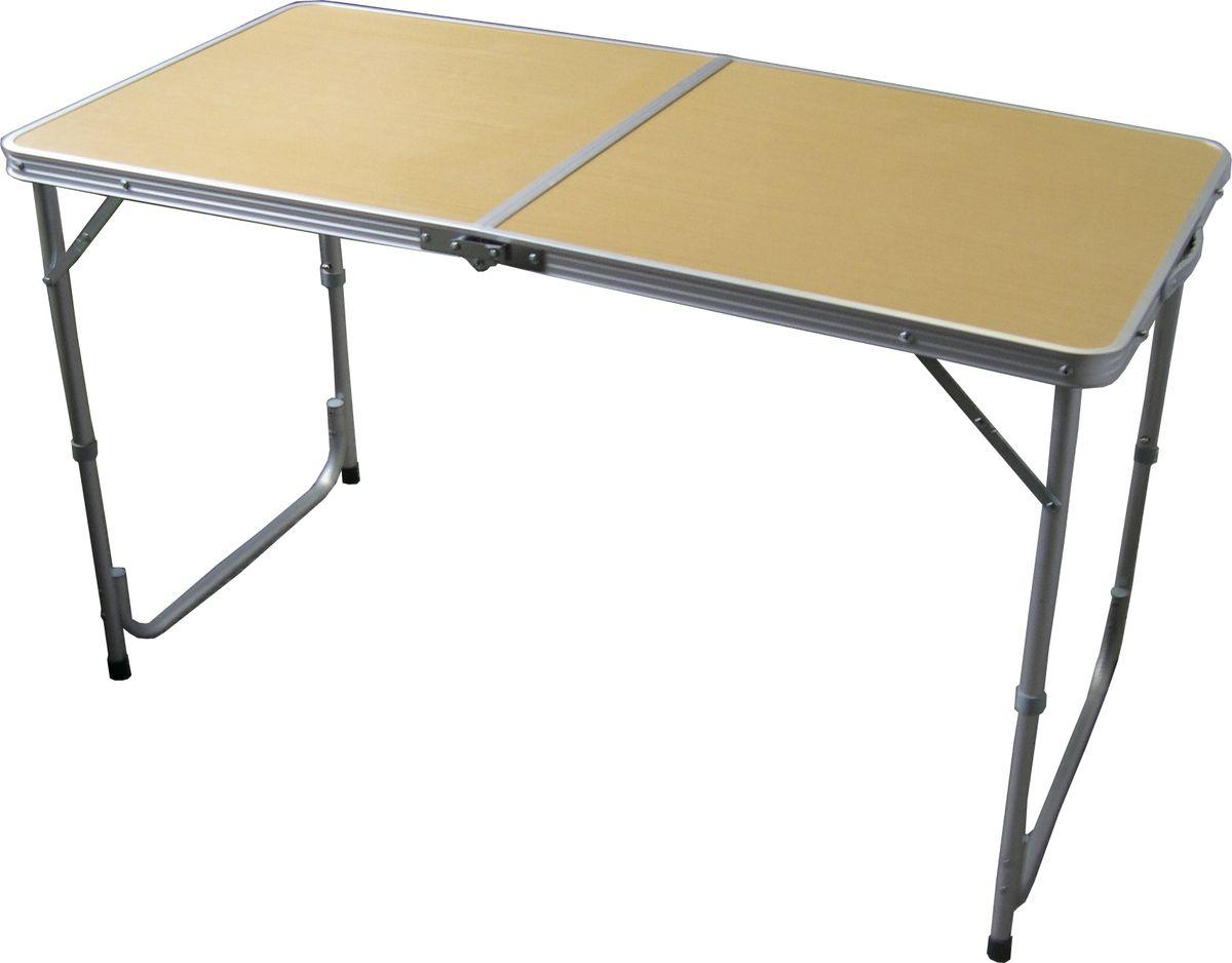 Стол складной Woodland Family Table, 120 см х 60 см х 70 см82305Складной стол Woodland Family Table предназначен для создания комфортных условий в туристических походах, рыбалке и кемпинге.Особенности:Компактная складная конструкция.Прочный алюминиевый каркас.Материал столешницы - МДФ.Удобная ручка для переноски.