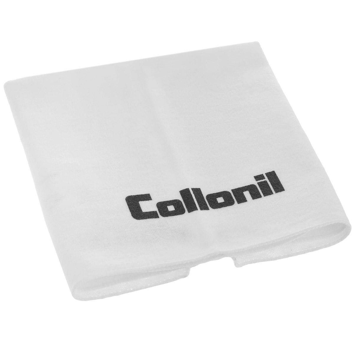 Салфетка для полировки обуви Collonil, цвет: белый, 34,5 х 34,5 смDV-201Салфетка Collonil изготовлена из акрила и полиамида. Изделие предназначено для чистки и полировки обуви. Для этого необходимо после нанесения средств защиты и ухода, соответствующих типу кожи, отполировать изделие салфеткой до блеска несколькими интенсивными движениями. С салфеткой Collonil ваша обувь всегда будет чистой и ухоженной. Размер салфетки: 34,5 см х 34,5 см.