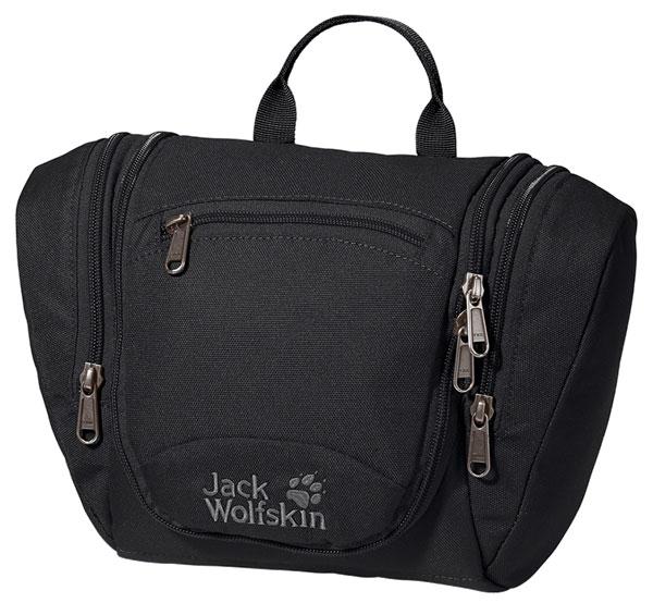 Несессер женский Jack Wolfskin Caddie, цвет: черный, 5 л3-47670-00504Во вместительный несессер Jack Wolfskin Caddie можно уложить все принадлежности, которые потребуются в кемпинге и в поездке. Оснащен 1 основным отделением на застежке-молнии и 3 карманами на застежке-молнии на крышке. Кроме того, внутренний карман на застежке-молнии легко вынимается и может использоваться в качестве удобной косметички.