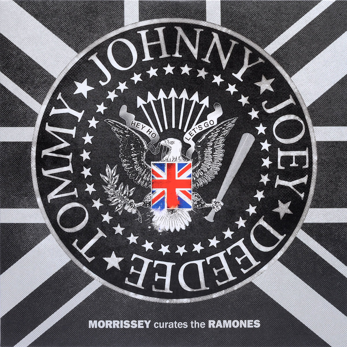 The Ramones Ramones. Morrissey Curates The Ramones (LP) ramones chest logo