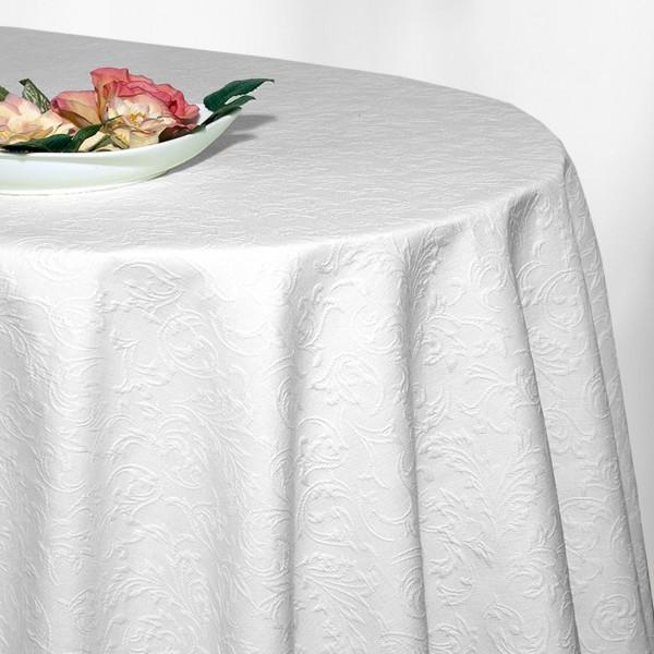 Скатерть Schaefer, овальная, цвет: белый, 170x 225 см. 4127/Fb.01-170*225VT-1520(SR)Скатерть Schaefer выполнена из 70% хлопка и 30% полиэстера и оформлена изящным фактурным рисунком. Скатерть Schaefer не останется без внимания ваших гостей, а вас будет ежедневно радовать оригинальным дизайном и несравненным качеством.Немецкая компания Schaefer создана в 1921 году. На протяжении всего времени существования она создает уникальные коллекции домашнего текстиля для гостиных, спален, кухонь и ванных комнат. Дизайнерские идеи немецких художников компании Schaefer воплощаются в текстильных изделиях, которые сделают ваш дом красивее и уютнее и не останутся незамеченными вашими гостями. Дарите себе и близким красоту каждый день! Изысканный текстиль от немецкой компании Schaefer - это красота, стиль и уют в вашем доме.