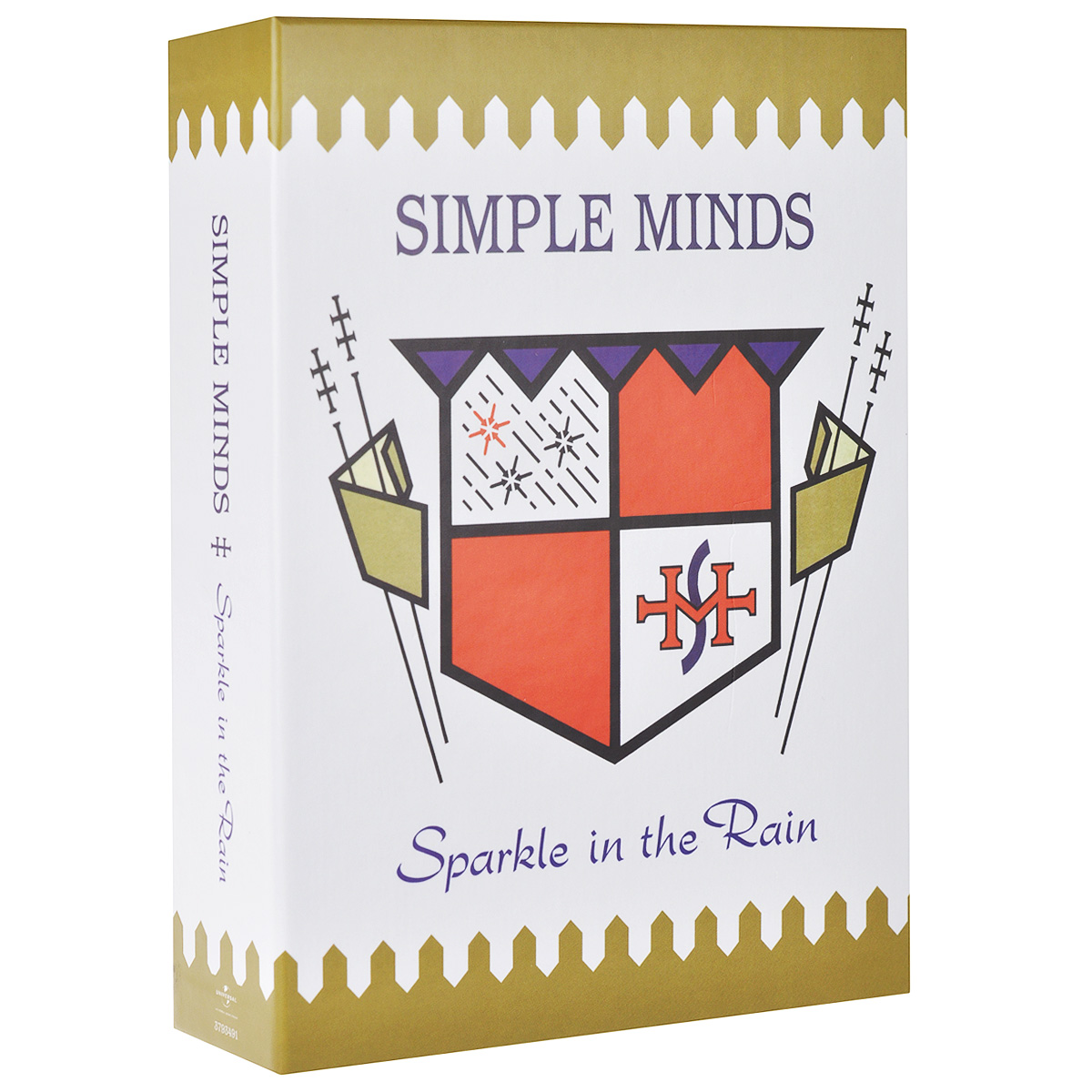 Simple Minds Simple Minds. Sparkle In The Rain (4 CD + DVD) simple minds simple minds once upon a time 5 cd dvd