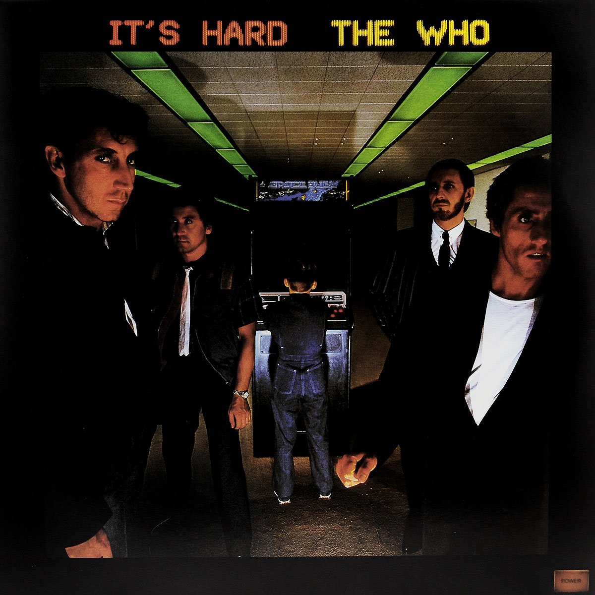 The Who The Who. It's Hard (LP) the trespasser