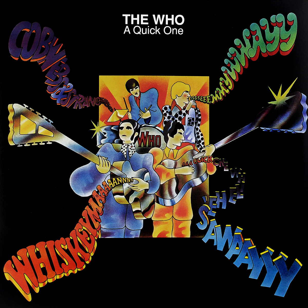 The Who The Who. A Quick One (LP) the who the who it s hard lp