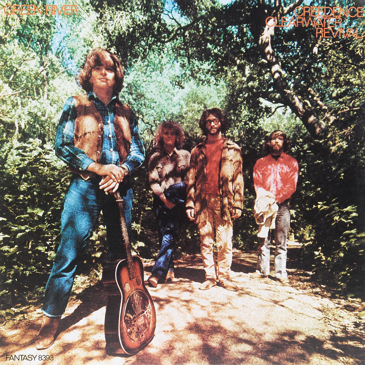 Creedence Clearwater Revival Creedence Clearwater Revival. Green River (LP)