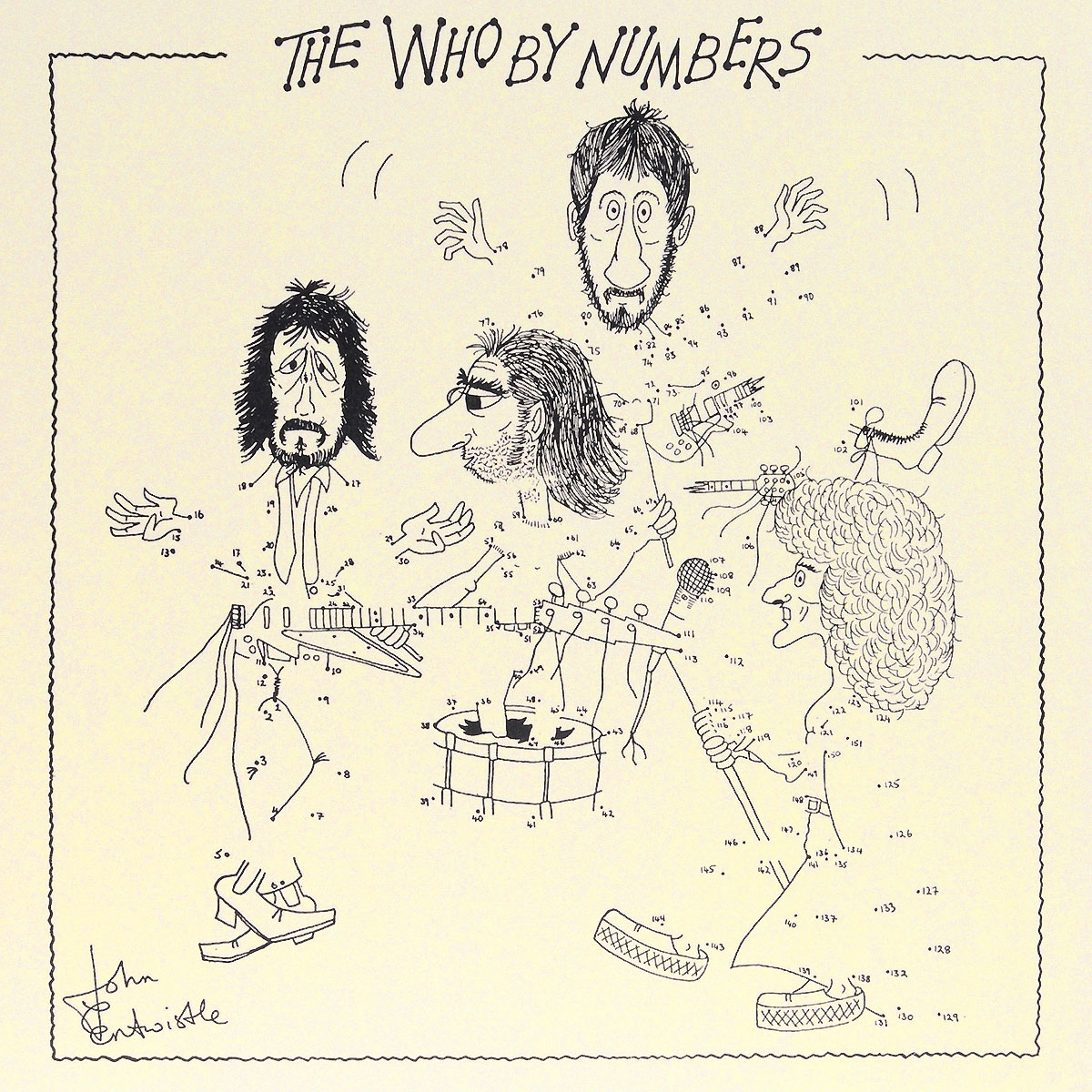 The Who The Who. The Who By Numbers (LP) the heir
